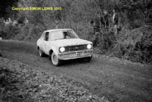 Ford Escort RS1800 Pengelly/Challacombe RAC Rally 1980